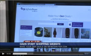 Dads Start Shopping website with a Twist
