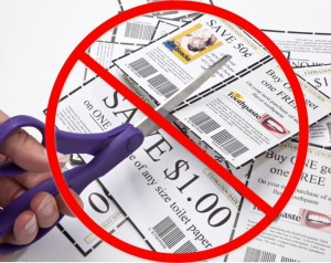 Coupons are not worth the time. Save time and money by making your own coupon